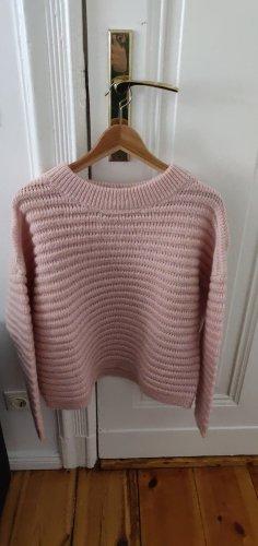 Selected Pull en laine rosé