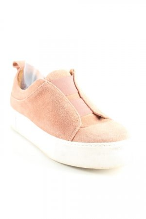 Selected Schlüpfsneaker roségoldfarben-wollweiß Casual-Look