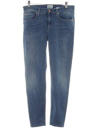 Selected Slim Jeans blau Casual-Look