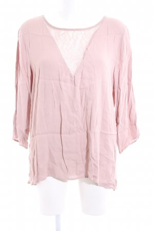 Selected Spitzenbluse pink Casual-Look