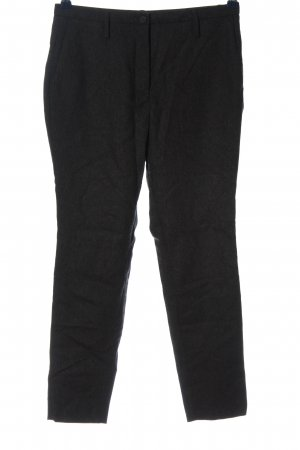 Selected Stoffhose schwarz meliert Casual-Look