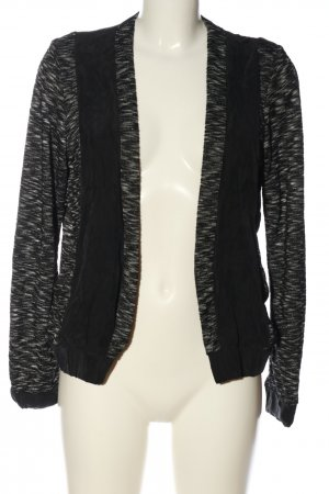Selected Knitted Bolero black-light grey flecked casual look