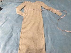 Selected Robe en maille tricotées beige-crème