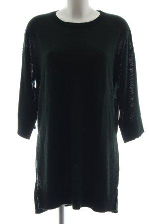 Selected Strickshirt grün Casual-Look