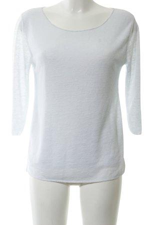Selected Strickshirt weiß Casual-Look