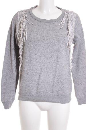 Selected Sweatshirt grau meliert sportlicher Stil
