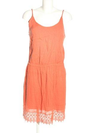 Selected Sukienka na ramiączkach jasny pomarańczowy W stylu casual