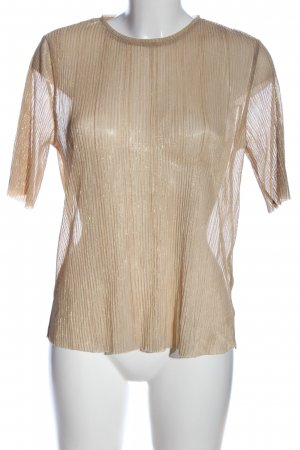 Selected Transparenz-Bluse creme Casual-Look