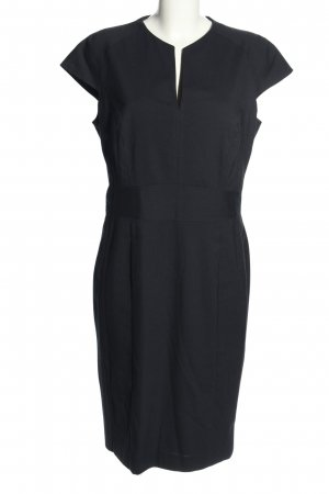 Selection by s.oliver A-Linien Kleid schwarz Business-Look