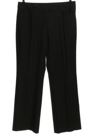 Selection by s.oliver Spodnie garniturowe czarny W stylu biznesowym