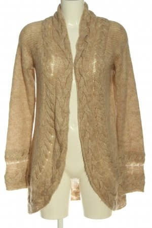 Selection by s.oliver Cardigan creme meliert Casual-Look