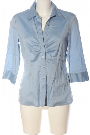 Selection by s.oliver Hemd-Bluse blau Business-Look