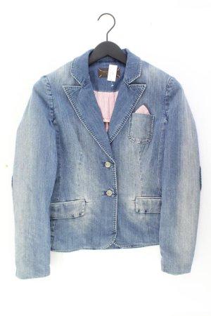 Selection by s.oliver Blazer en jean bleu-bleu fluo-bleu foncé-bleu azur coton
