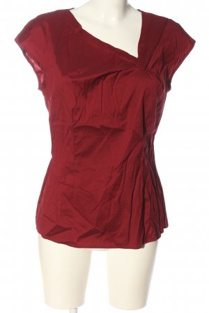 Selection by s.oliver Kurzarm-Bluse rot Casual-Look