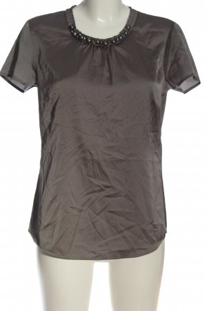 Selection by s.oliver Kurzarm-Bluse braun Casual-Look