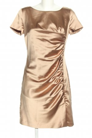 Selection by s.oliver Kurzarmkleid goldfarben Elegant