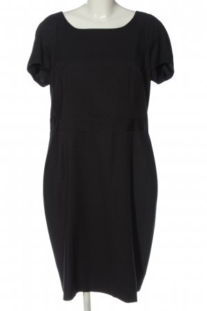 Selection by s.oliver Kurzarmkleid schwarz Business-Look