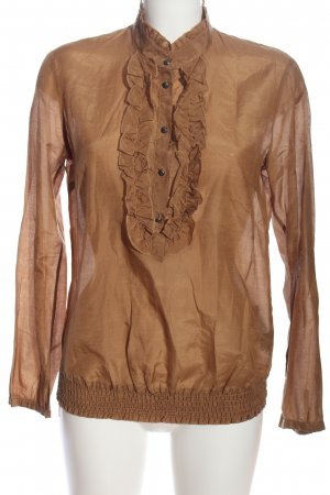 Selection by s.oliver Schlupf-Bluse braun Casual-Look
