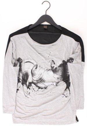 Selection by s.Oliver Longsleeve-Shirt Größe 34 Langarm grau