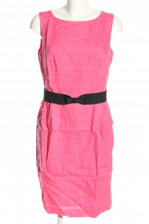 Selection by s.oliver Midikleid pink-schwarz Business-Look