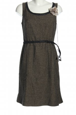 Selection by s.oliver Minikleid braun Webmuster Casual-Look