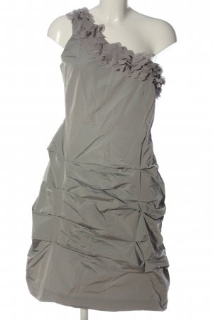 Selection by s.oliver One Shoulder Dress light grey casual look