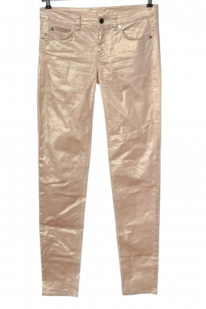 Selection by s.oliver Drainpipe Trousers gold-colored casual look