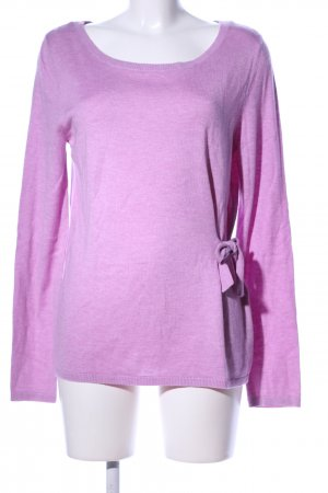 Selection by s.oliver Rundhalspullover pink Casual-Look