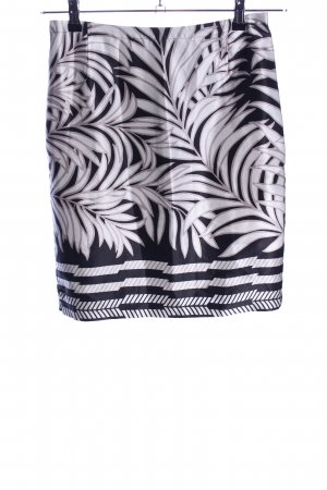 Selection by s.oliver Silk Skirt white-blue allover print elegant