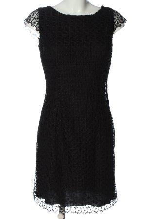 Selection by s.oliver Spitzenkleid schwarz Elegant