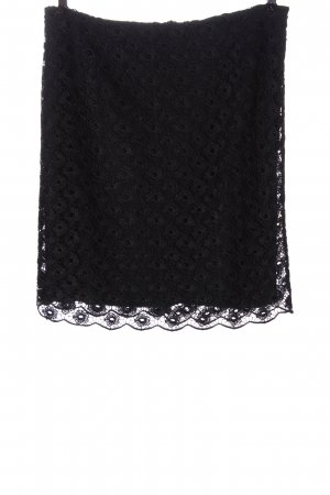 Selection by s.oliver Jupe en dentelle noir élégant