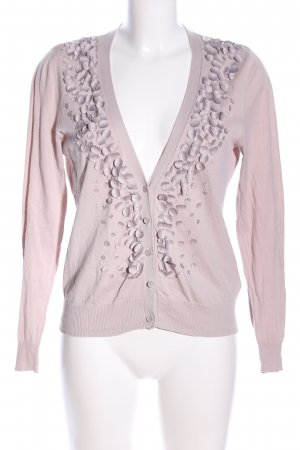 Selection by s.oliver Strick Cardigan pink Business-Look