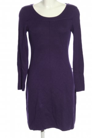 Selection by s.oliver Strickkleid lila Casual-Look