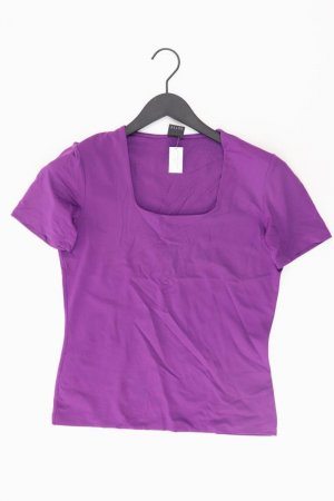 Selection by s.Oliver T-Shirt Größe 38 Kurzarm lila aus Polyamid