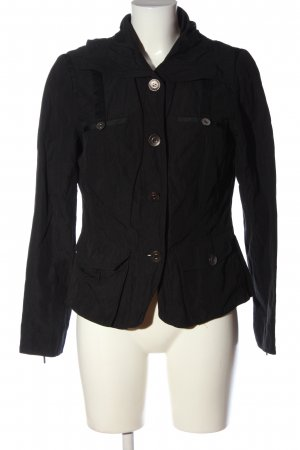 Selection by s.oliver Übergangsjacke schwarz Casual-Look