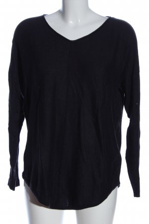 Selection by s.oliver V-Ausschnitt-Pullover blau Casual-Look