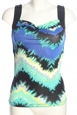 Selection by s.oliver Cowl-Neck Top abstract pattern casual look