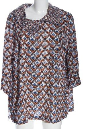 Selection by Ulla Popken Blusa-camisa estampado con diseño abstracto