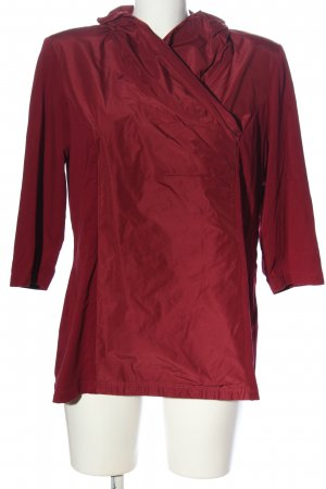 Selection by Ulla Popken Langarm-Bluse rot Casual-Look
