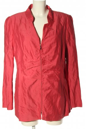 Selection by Ulla Popken Long-Blazer rot Casual-Look
