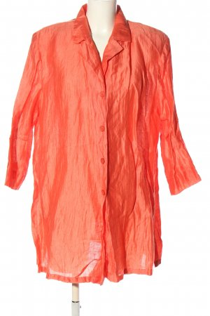 Selection by Ulla Popken Long-Blazer hellorange Casual-Look