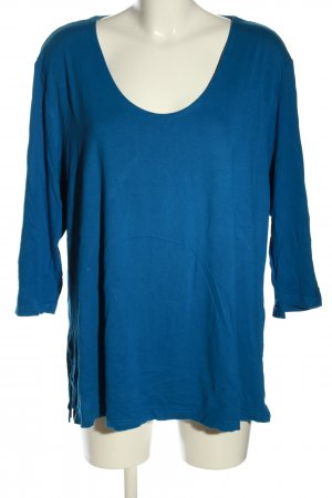 Selection by Ulla Popken Longsleeve blau Casual-Look