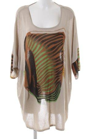Selection by Ulla Popken Oversized Shirt Motivdruck Casual-Look