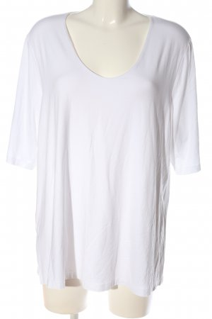 Selection by Ulla Popken T-Shirt weiß Casual-Look