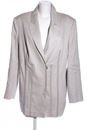 Selection by Ulla Popken Tweedblazer hellgrau Casual-Look