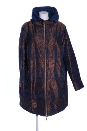 Selection by Ulla Popken Abrigo de invierno color bronce-azul look casual