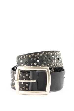 Selection Vanzetti Boucle de ceinture noir style décontracté