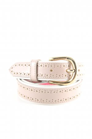 Selection Vanzetti Leather Belt cream casual look
