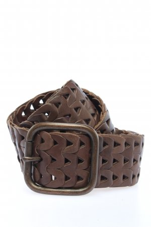 Selection Vanzetti Leather Belt brown casual look
