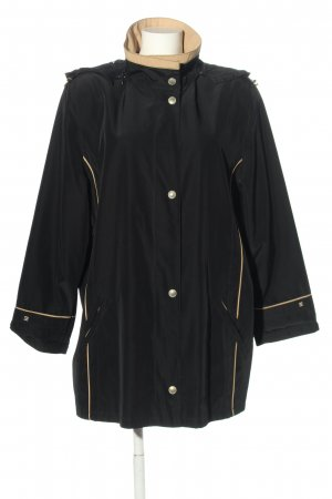 Selective Übergangsjacke schwarz-creme Casual-Look